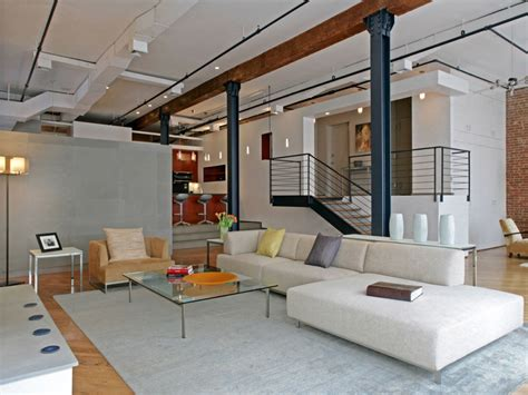Modern Loft Interior Design Ideas by Large Decorative Mirrors For Living Room Modern