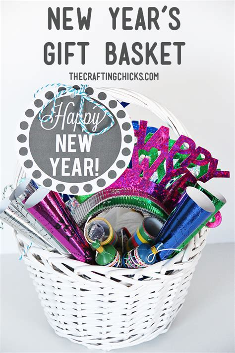 new year s eve gift basket the crafting chicks