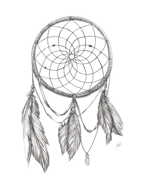dream catcher bnw by packness on deviantart