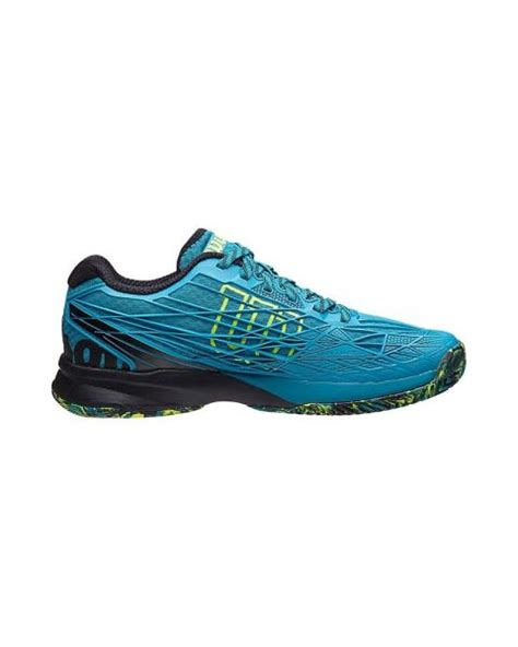 Kaos Blue Black wilson kaos safety blue black agressive padel shoes