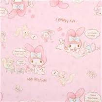 Pink My Melody Bunny Tea Plush Sanrio Oxford Fabric Iphone tela oxford rosa claro my melody conejita peluche t 233 de
