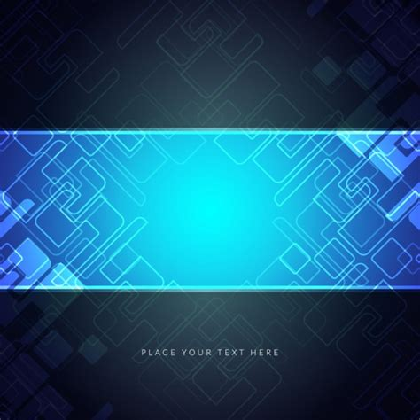 blue wallpaper vector free download blue circuit background vector free download