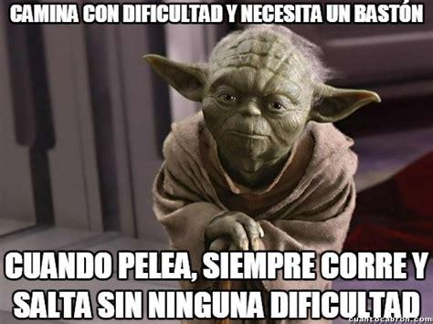 Memes De Yoda - cu 225 nto cabr 243 n mucho cuento le echa yoda