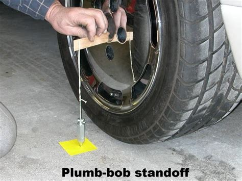 Diy Plumb Bob by Sle Toe In Chart And Laser Level There Are