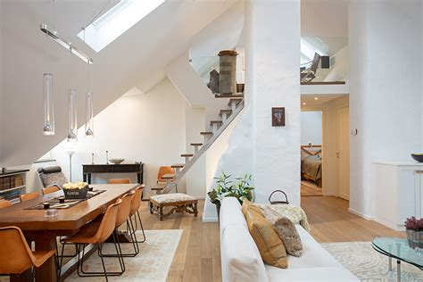 small loft apartment open kitchen modern loft apartment with bright open plan and