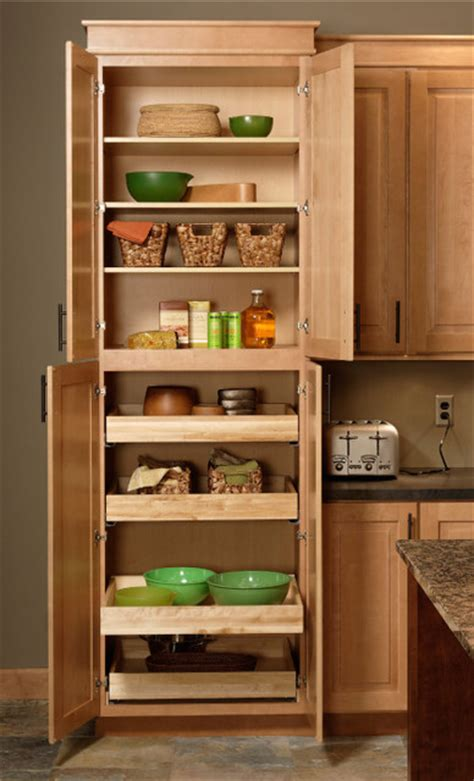 Kitchen Pantry Closet by Pantry Cabinet Cliqstudios Traditional