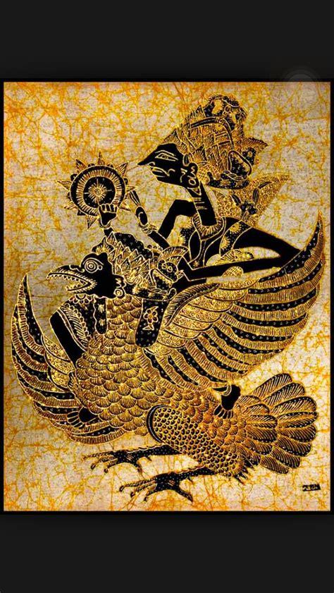 Batik Wayang Ukir Batik Wayang Pundak wayang kulit depicted here in batik wonderful wayang indonesia batik