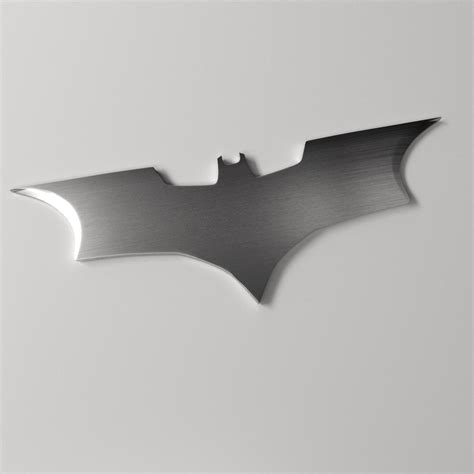 batarang 3d model 3ds fbx blend dae cgtrader com
