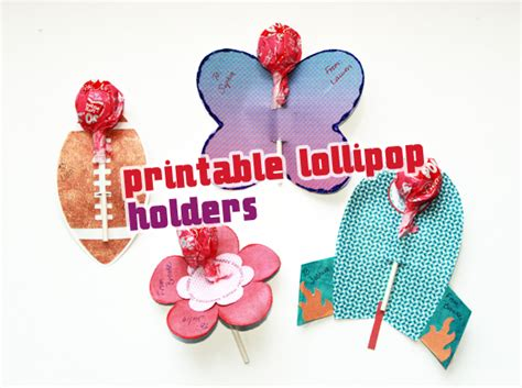 valentine s day lollipop flowers with free printables a printable lollipop holders tutorial scrap girls