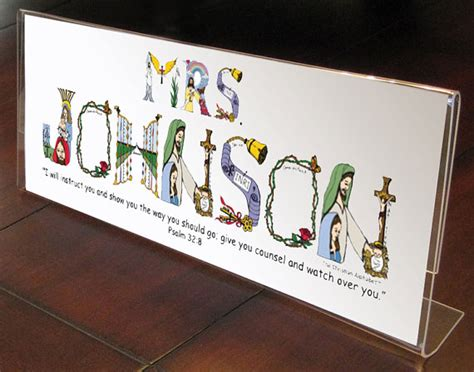 end of year teacher gifts personalized by thechristianalphabet