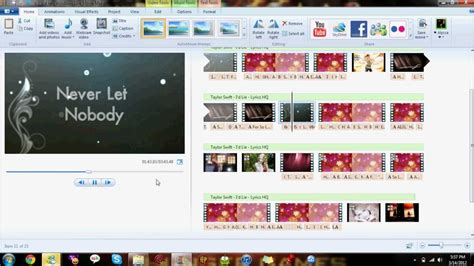 photo maker how to make a lyrics using windows live maker