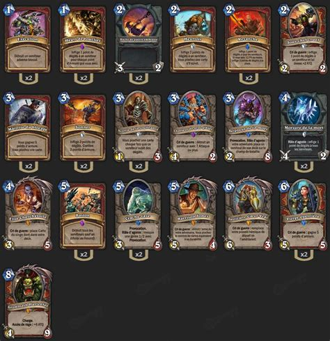 hearthstone pro decks guide guerrier contr 244 le deck pro hearthstone heroes