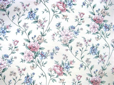 wallpaper floral blue vintage floral wallpaper wallmaya com