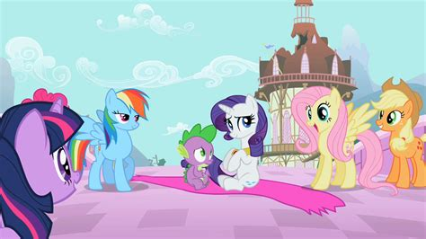Bgc My Pinkie Pony Rainbow Dash And Friends Kantung Depan Tas R image fluttershy ecstatic that she and rainbow dash actually saved their friends s02e10 png