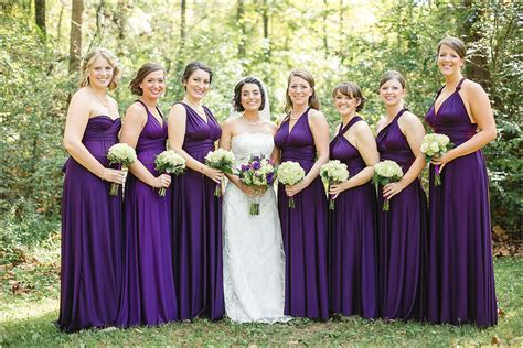 convertible bridesmaid dress dressed up