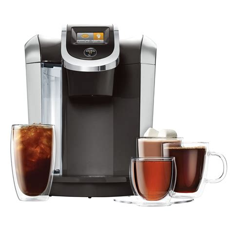 Keurig K425S Coffee Maker with 24 K Cup Pods & Reusable K Cup 2.0 Coffee Filter   Coffee Makers