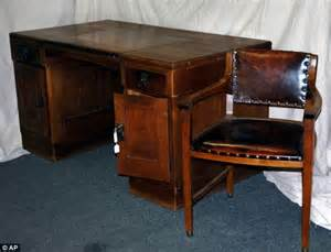 adolf s desk where he planned genocide has been