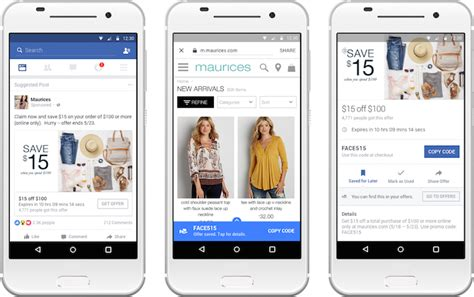 faceboock mobile upgrades its ads and page posts for offers