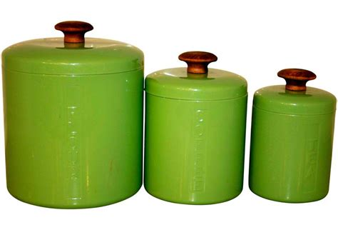 green kitchen canisters kitchen canister set omero home