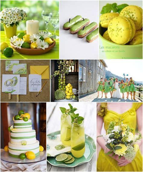 Lemon and Lime Wedding Ideas