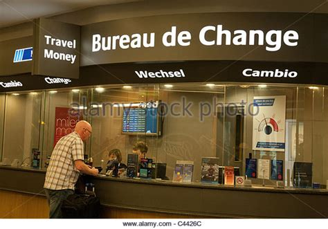 bureau de change gatwick airport terminal stock photos terminal stock images