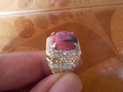 Borneo Ring Titanium batu permata martapura murah batu permata martapura murah