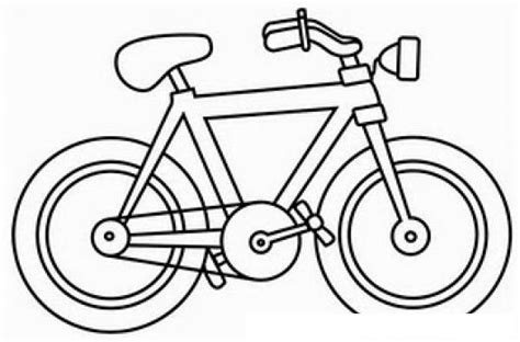 Imagenes Para Colorear Bicicleta   pintar bicicleta colorear dibujos de bicicletas dibujo