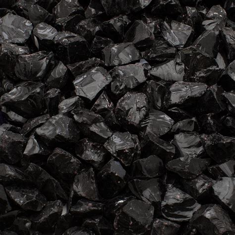 Black Garden Rocks Margo Garden Products 1 4 In 10 Lb Black Landscape Glass Dfg10 L02s The Home Depot
