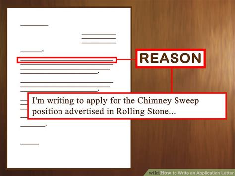 Chimney Sweep Essay by 3 Ways To Write An Application Letter Wikihow