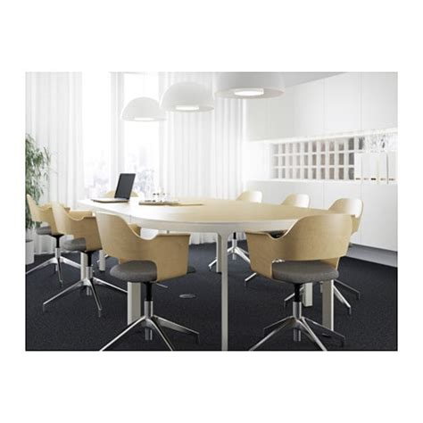 ikea conference room table bekant conference table birch veneer white 280x140 cm ikea