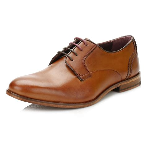 Sepatu Azcost Derby Formal Leather ted baker mens iront derby shoes black or brown formal leather shoes ebay