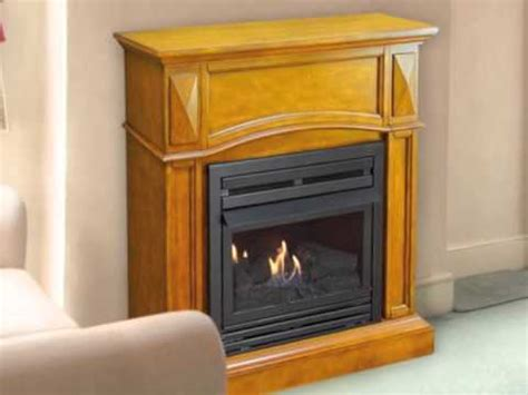 pleasant hearth vent free compact gas fireplace vff