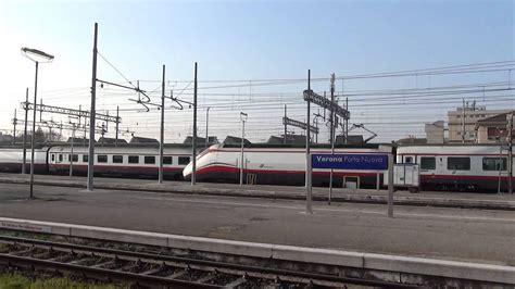 stazione di verona porta nuova incrocio di frecce bianche alla stazione di verona porta