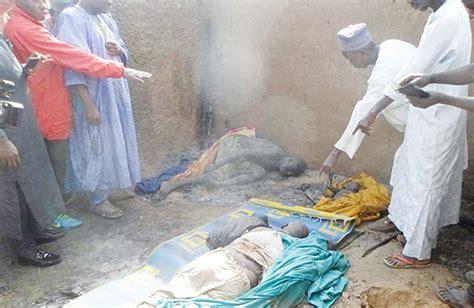 death men in nigeria boko haram extremists burn kids alive in northeast nigeria