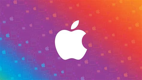 wallpaper apple colorful abstract hd  technology