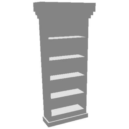 traditional bookshelf secret door   bloxburg