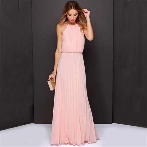 Dress Anggun Pesta Pink Salem Gaun Wanita Baju Dres Wanita Dewasa gaun pesta 2015 newhairstylesformen2014