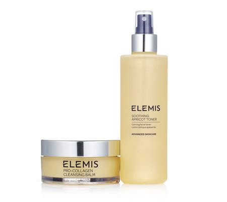 Elemis Detox Products by Elemis Cleansing Balm Toner Duo Page 1 Qvc Uk