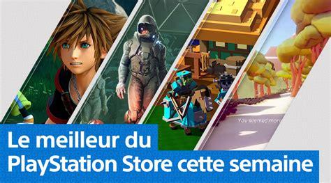 playstation store mise 224 jour du 28 janvier 2019