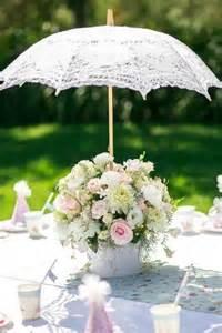 bridal shower umbrella centerpiece bridal shower