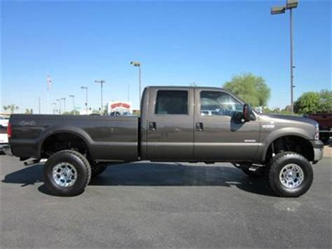 Purchase used 2006 FORD F 250 LARIAT CREW CAB DIESEL LONG