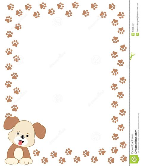 cute dog borders