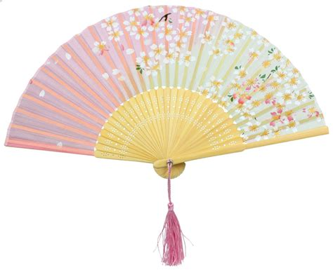 hand held folding fans chinese hand held fan bamboo silk butterfly flower