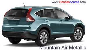 Honda Crv Color 2016 Honda Cr V Exterior Colors 2016 Car Release Date