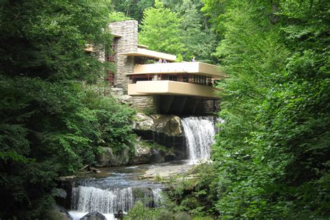 water falling a behind the scenes tour of fallingwater an american