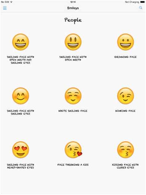 Name Meaning Lookup 免費社交app Smileys Lookup Emoji Names And Meanings 線上玩app不
