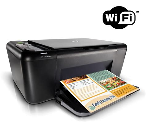 Wifi Hp hp deskjet f4580 wireless all in one printer driver