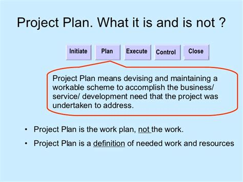what is workflow planning project planning