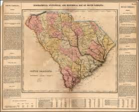 historical maps of carolina geographical statistical and historical map of south
