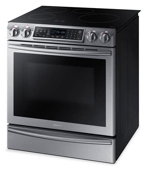 samsung 5 8 cu ft slide in induction range ne58k9560ws ac the brick
